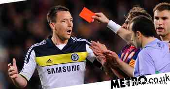 Chelsea news: John Terry picks red card v Barca as his 'silliest' decision - Metro.co.uk