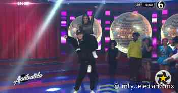 La espectacular muestra de baile de George Leyva y Uvita - Telediario Monterrey