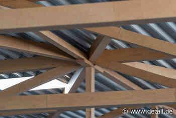 Weltgrößtes Dachtragwerk aus Baubuche: Schraubenwerk in Waldenburg - DETAIL - Magazin für Architektur + Baudetail - DETAIL.de - das Architektur und Bau-Portal