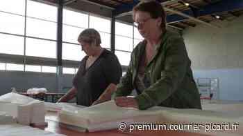 Des équipes survitaminées pour la confection des surblouses à Montdidier - Courrier picard