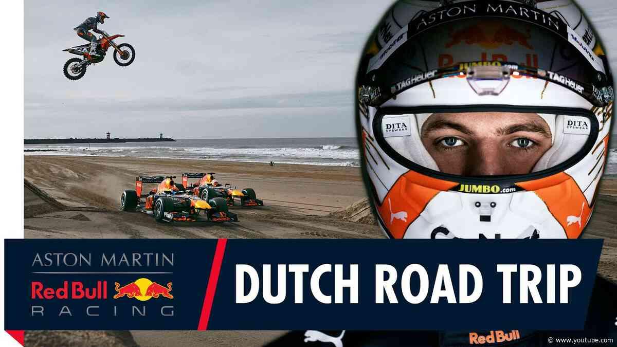 Max Verstappen takes Alex Albon on a Dutch Road Trip to Zandvoort