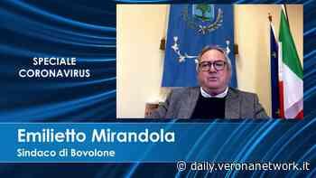 Il sindaco di Bovolone: «Mi preoccupa molto l'economia» - Daily Verona Network