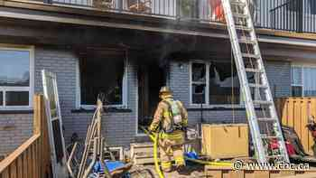 Boy hospitalized after fire at Nepean townhouse - CBC.ca