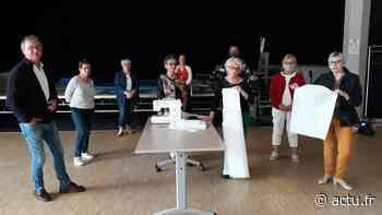 Evron : l'atelier couture du Trait d'Union va confectionner 300 sur-blouses - actu.fr
