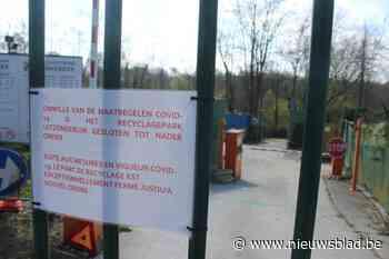 Recyclagepark met twee weken vertraging weer open (Linkebeek) - Het Nieuwsblad