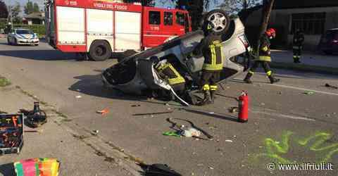 Scontro tra due auto a Codroipo, muore una mamma - Il Friuli