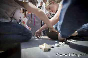 Steentjes bijdragen aan Dodenherdenking in Schinnen - De Limburger