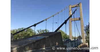 Les technologies utilisées pour surveiller le pont de Vernaison, dans la métropole de Lyon - L'Usine Nouvelle