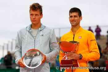 ThrowbackTimes Monte Carlo: Novak Djokovic edges Tomas Berdych to regain title - Tennis World USA