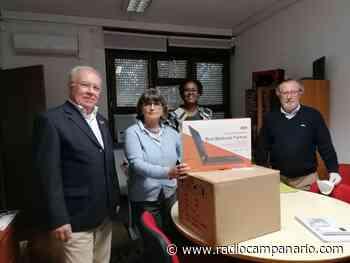 Rotary Clube de Evora - Entrega computadores a Escolas destinados a alunos carenciados - Rádio Campanário