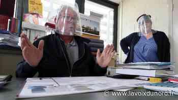 À Vitry-en-Artois, les cartonnages Mafi se recyclent dans la production de visières - La Voix du Nord