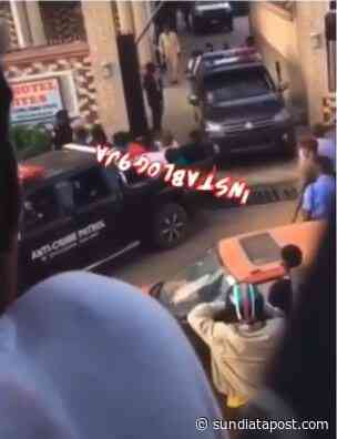 Lockdown: Drama As Police Storm Akure Hotel, Arrest People Attending A Birthday Party – Video - SundiataPost