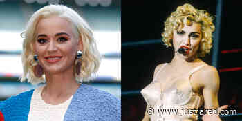 Pregnant Katy Perry Was Going to Pay Homage to Madonna's Iconic Cone Bra at Met Gala 2020