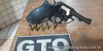 Homem com arma carregada é preso em Itaituba - Jornal Folha do Progresso
