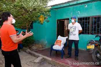 Gobernación entrega 7.682 mercados solidarios en Ariguaní y Santa Ana - Seguimiento.co