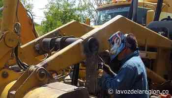 Maquinaria vial de Oporapa fue sometida a reparación y mantenimiento - Noticias