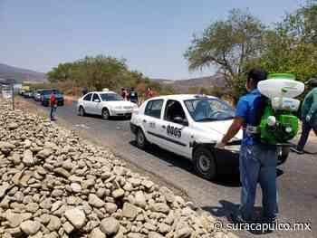Quitan filtro en Cocula ante la violencia y en Ixcateopan refuerzan medidas contra Covid-19 - El Sur de Acapulco