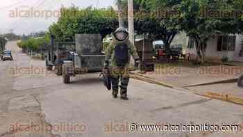 Desactivan granada que arrojaron a comandancia de la SSP, en Sayula de Alemán - alcalorpolitico
