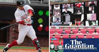 Baseball restarts in South Korea behind closed doors with virtual fans –video report
