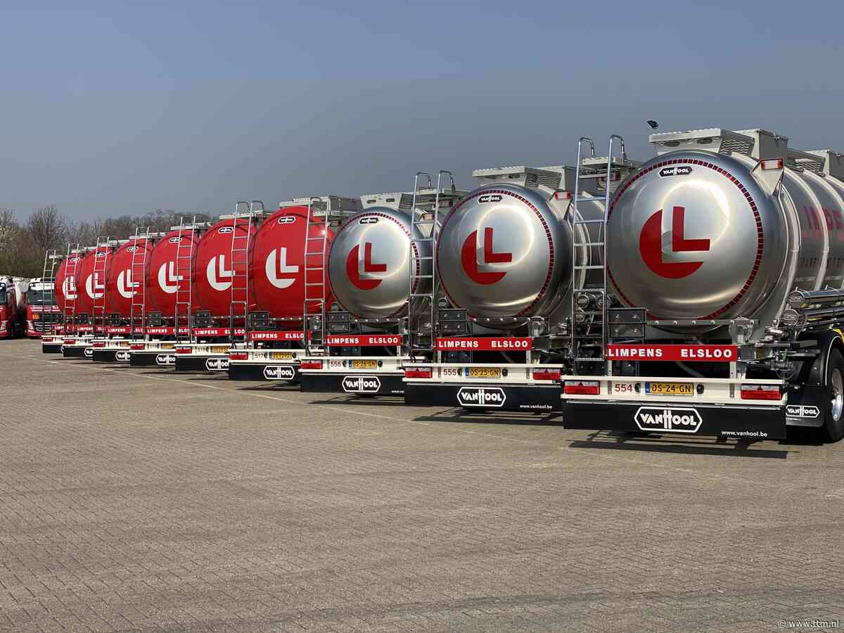 Tien nieuwe Van Hool tankopleggers voor Limpens • TTM.nl - TTM.nl