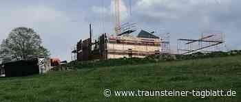 Feuerwehrhaus am Hochberg wird im November fertig - Traunsteiner Tagblatt
