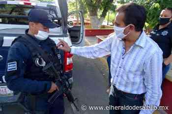 Parras de la Fuente adquiere cámaras adheribles al cuerpo para la policía municipal gracias al FORTASEG - El Heraldo de Saltillo