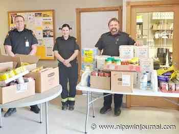 Emergency worker challenge starts Nipawin food drive - Nipawin Journal