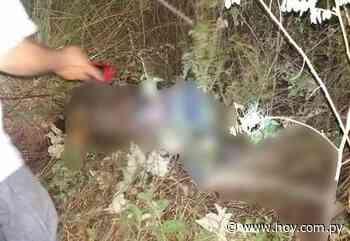 Mbutuy: hallan cuerpo sin vida de joven desaparecido desde el martes - hoy.com.py