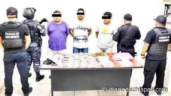"""Detienen a tres """"fichitas"""" de Huixtla - Diario de Chiapas"""