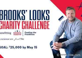 "Wizards & Scott Brooks launch ""Brooks' Looks"" Charity Challenge presented by Fresh Vine Wine"