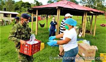 Ejército entrega bienestar a los abuelitos de Anolaima - Extrategia Medios