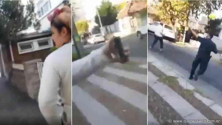 Villa Ballester: una mujer violó la cuarentena y agredió con gas pimienta a un policía - Que Pasa Web