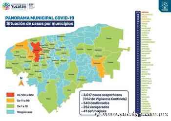 La pandemia llega a Muna y Yaxkukul - El Diario de Yucatán