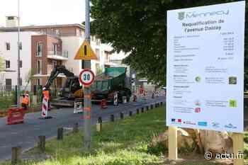 Essonne. A Mennecy, l'aménagement de l'avenue Darblay a repris avec des mesures sanitaires - actu.fr