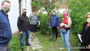 Aniche : les couturières conçoivent, les anciens combattants distribuent les masques - La Voix du Nord