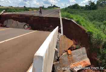 Vereadores de Nova Andradina solicitam informações sobre ponte do anel viário - Nova News