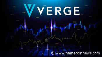 Verge (XVG) Reflects Recovery After Yesterday's Steep Fall - NameCoinNews