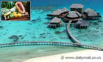 Hotel in Maldives loved by Billie Piper reveals Edible Spa Menu - treatments you can make using FOOD - Daily Mail
