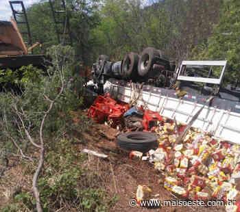 Motorista de caminhão morre em acidente próximo a Bom Jesus da Lapa - maisoeste