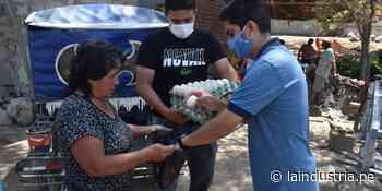 Distribuyen más de 1800 unidades de huevos en asentamientos humanos de Ascope - La Industria.pe