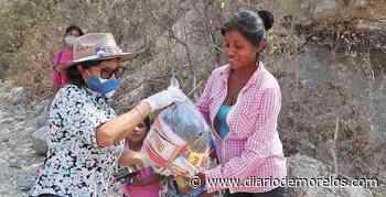 Apoyan con despensas en Emiliano Zapata - Diario de Morelos