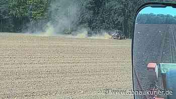 Heideck: Nur Tropfen auf die trockene Krume - Die jüngsten Regentage lassen die Landwirte im Landkreis Roth kaum aufatmen - Bei weiterer Trockenheit droht Futtermangel - donaukurier.de