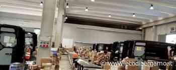 Il video dei corrieri di Treviolo al lavoro «La gente come noi non molla mai...» - Cronaca, Treviolo - L'Eco di Bergamo