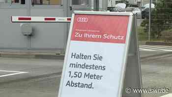 Audi-Werk Neckarsulm montiert wieder Autos | Heilbronn | SWR Aktuell Baden-Württemberg | SWR Aktuell - SWR