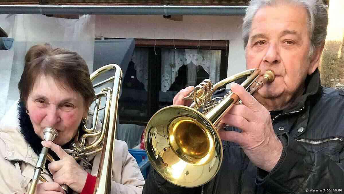 Posaunenchöre in Bottendorf und Ernsthausen machen in Coronazeiten musikalisch Mut - wlz-online.de