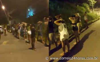 PM encerra festa com mais de 100 jovens em Lauro de Freitas; veja vídeo - Jornal Correio