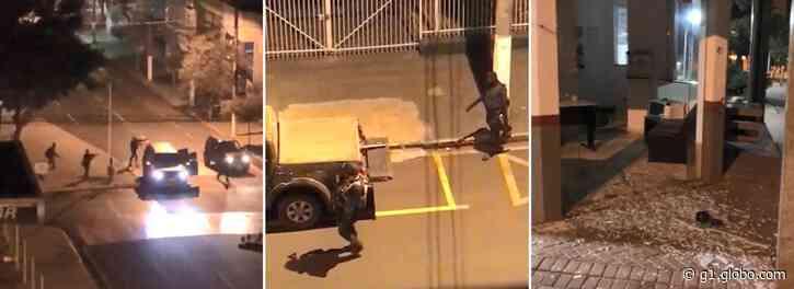 Jornalista que fez live durante roubo a banco em Ourinhos relata pânico: 'Cenário de guerra' - G1