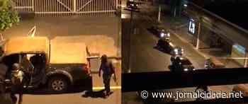Grupo assalta banco, cerca delegacia e atira em base policial em Ourinhos - Grupo JC de Comunicação
