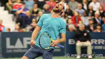 Cressy Captures Drummondville Crown | Video Search Results - ATP Tour