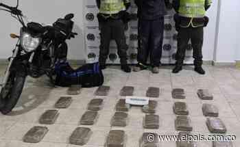 La Policía incautó 170 kilos de marihuana en el municipio de Bugalagrande - El País